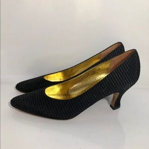 Made In Spain Fabric Dress Pumps By Allure